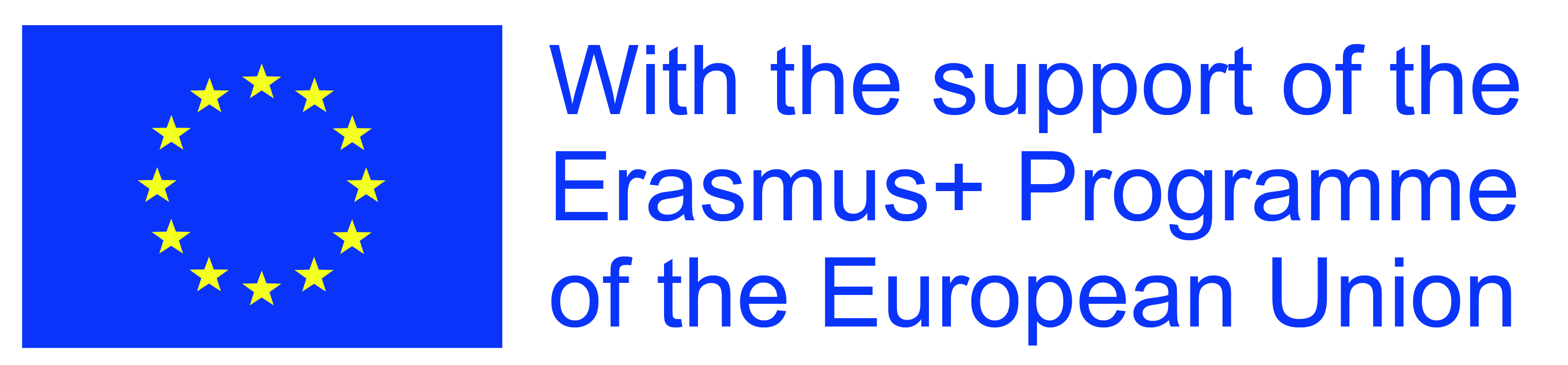 With the support of the Erasmus+ Programe of the European Union